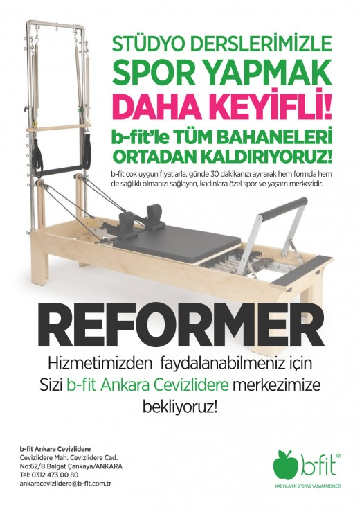 REFORMER PİLATES SEANSLARI